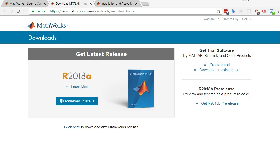 KB #32 MATLAB and MathWorks Installation guide for Students | EIA